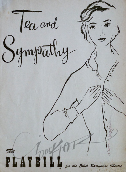 Tea and Sympathy,  Illustration by Irv Docktor