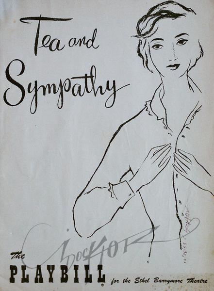 Tea and Sympathy,  Illustration by Irv Docktor
