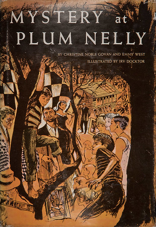 Mystery at Plum Nelly, Illustration by Irv Docktor