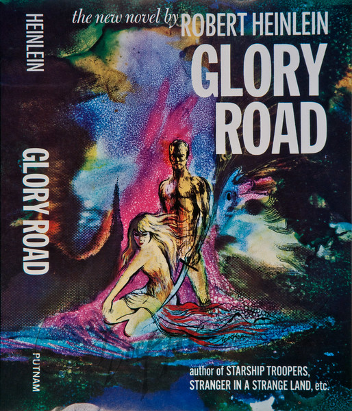 Glory Road by Robert Heinlein, Illustration by Irv Docktor