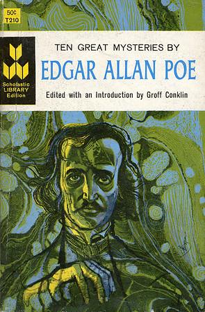 Ten Great Mysteries of Edgar Allen Poe,  illustration by Irv Docktor