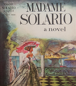Madame Solario a Novel,  Illustration by Irv Docktor