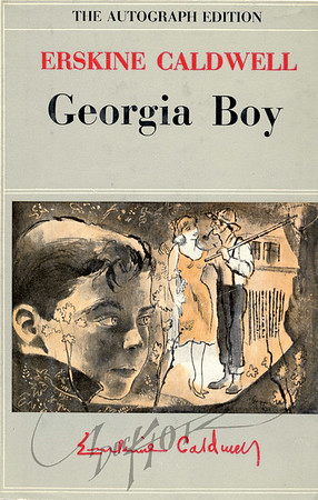Erskine Caldwell, Georgia Boy (Grosset & Dunlap, 1957). Illustration by Irv Docktor