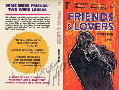Friends & Lovers by Oscar Pinkus,  Illustration by Irv Docktor