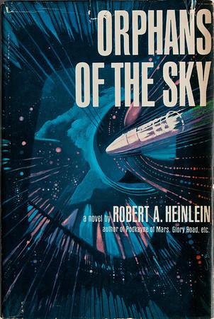 Orphans of the Sky by Robert Heinlein, Illustration by Irv Docktor