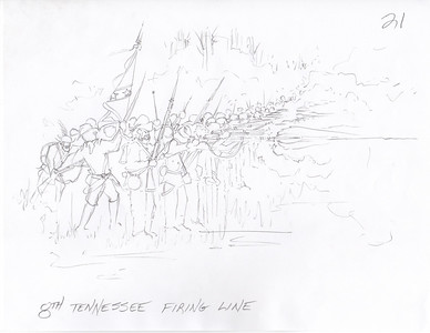 8th Tennessee Firing Line