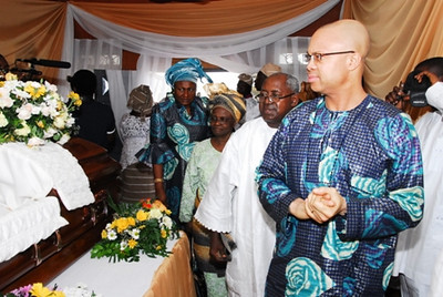 Funeral Service & Internment. Ondo
