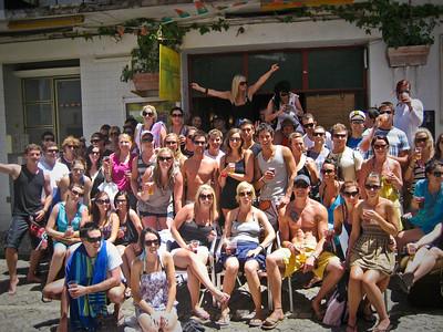 Lagos, Portugal booze cruise crew