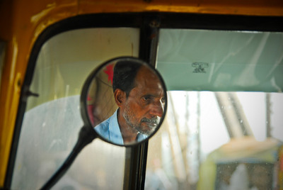My tuk tuk driver.  Not the friendliest face