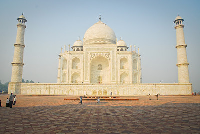 Side view of the Taj