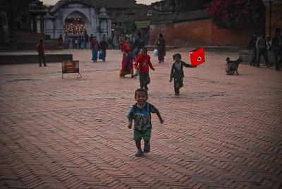 Children running wild