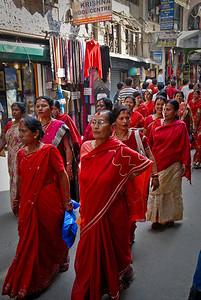 A Sari parade