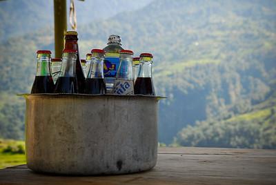 Glass bottled cola!