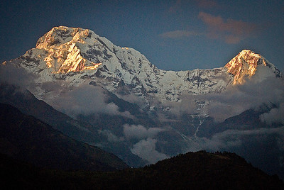 Sunrise at the Annapurna South revisited