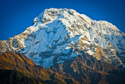 Annapurna South in full force