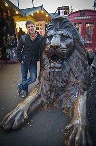 Leo with the leo