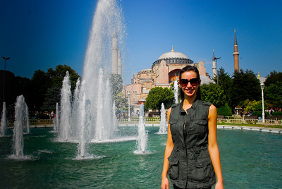 First day..venturing out in Istanbul.