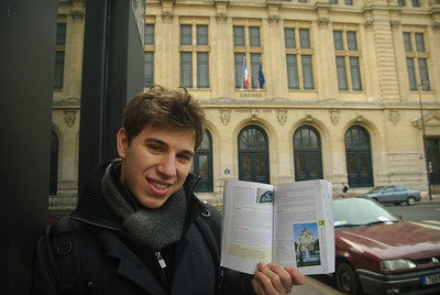 In front of Sorbonne