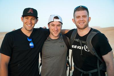 Steve, Greg, and Sean