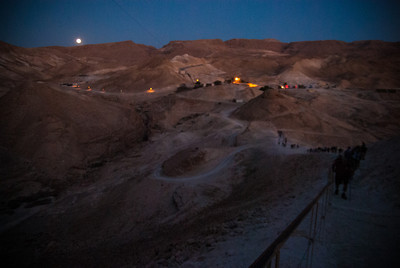 Up Masada we go 5am