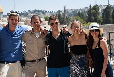 With Eric, Yoav, Rachel, Sara