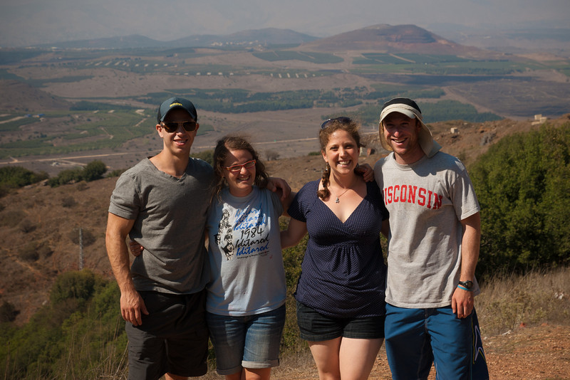 With Katie, Ilana, Greg