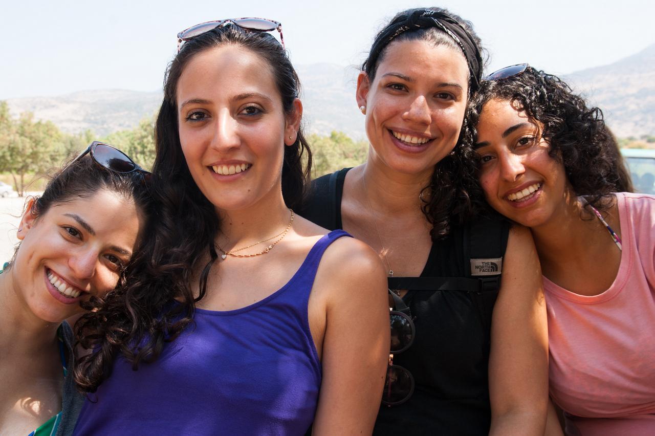 Melanie, Shiran, Rosa, Noa