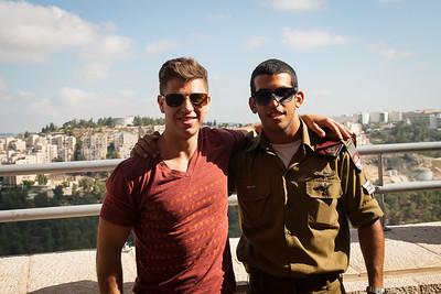 With Eden at Yad Vashem