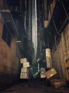 Eery alleyway