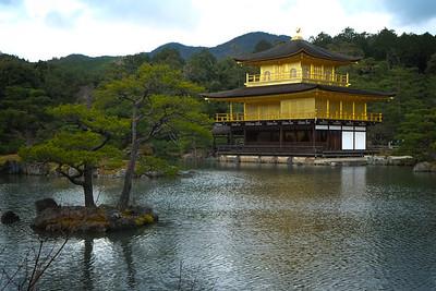 Golden pavilion - Kin kakuji