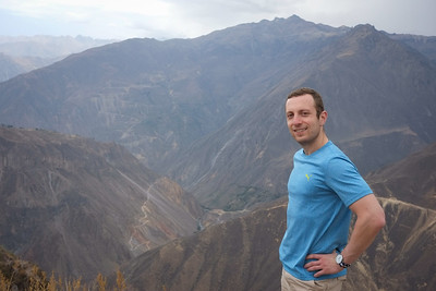 Top of Colca Canyon