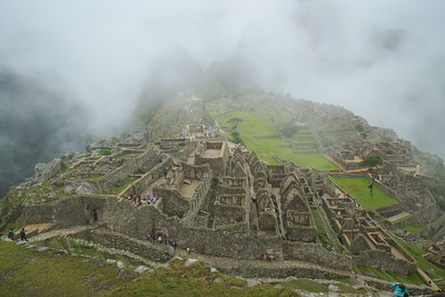 "Machu Picchu was abandoned about 400 years ago, and ""resdiscovered"" by Hiram Bingham 100 years ago.  There is a carbon copy of this historic site in the amazon - https://en.wikipedia.org/wiki/Choquequirao"