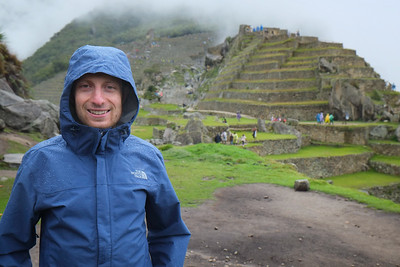 Post hike up the mountain, we explored around Machu Picchu itself