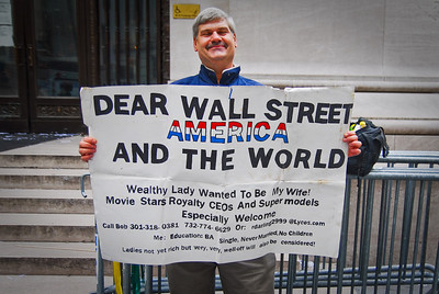 "Ran into him downtown near the NY Fed.  Asked him how long the search has been going.  ""A long time,"" he said."