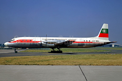 Balkan Bulgarian Airlines Ilyushin Il-18V LZ-BEK (msn 182004603) LBG (Christian Volpati). Image: 948793.