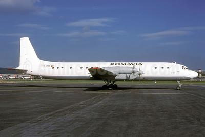 Romavia Ilyushin Il-18D YR-IMM (msn 187009904) ZRH (Rolf Wallner). Image: 941434.