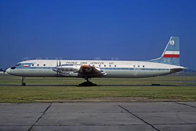 LOT Polskie Linie Lotnicze (LOT Polish Airlines) Ilyushin Il-18V SP-LSF (msn 185008601) LBG (Christian Volpati). Image: 933896.