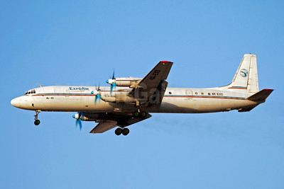 Expo Air Ilyushin Il-18 4R-EXD (msn 18700-9802) DXB (Paul Denton). Image: 903105.