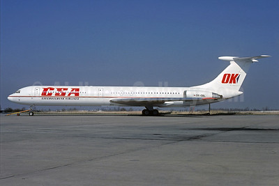 CSA-Czechoslovak Airlines (Czech Airlines) Ilyushin Il-62M OK-OBL (msn 4445032) PRG (Christian Volpati Collection). Image: 930033.