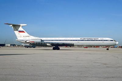Aeroflot Russian Airlines Ilyushin Il-62M RA-86489 (msn 4830456) MIA (Bruce Drum). Image: 102909.