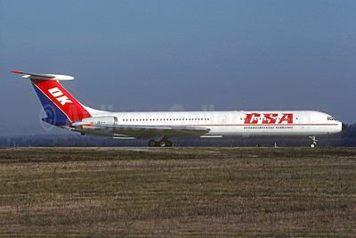 CSA-Ceskoslovenske Aerolinie (Czech Airlines) Ilyushin Il-62M OK-JBJ (msn 4933456) MXP (Christian Volpati Collection). Image: 930032.