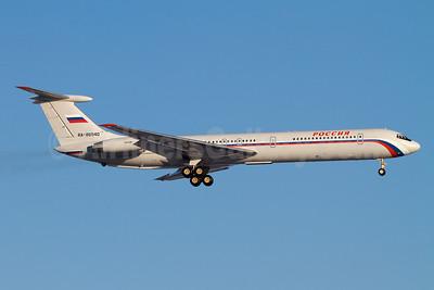 Rossiya Russian Airlines Ilyushin Il-62M RA-86540 (msn 3546548) MUC (Arnd Wolf). Image: 908153.