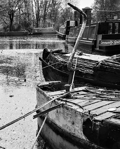 rotting old boat       p lwhalley