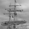Masts of a brig