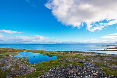 Varangerfjorden  in arctic Norway