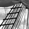 Sail and rigging - monochrome