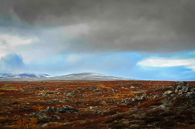 Clouds over the Norwegian fjell