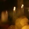 Candles and Christmas tree