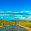 Road in arctic Norway