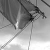 Sails of a brigantine